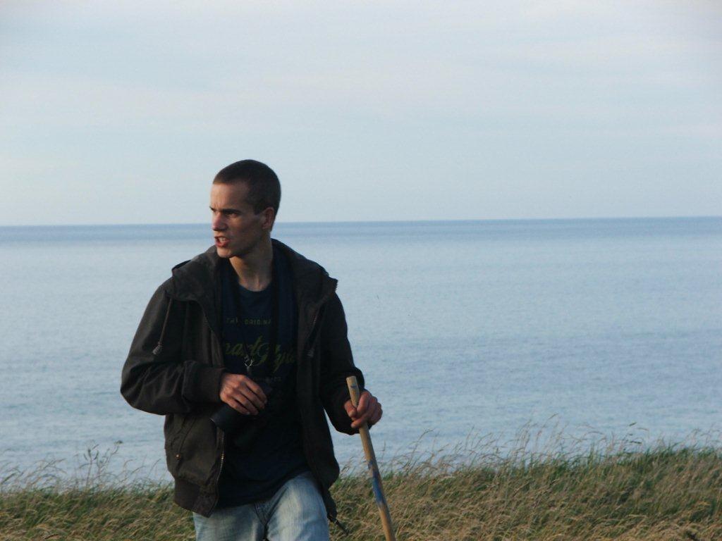 Balade en haut de la falaise à Saint-Pierre-en-Port